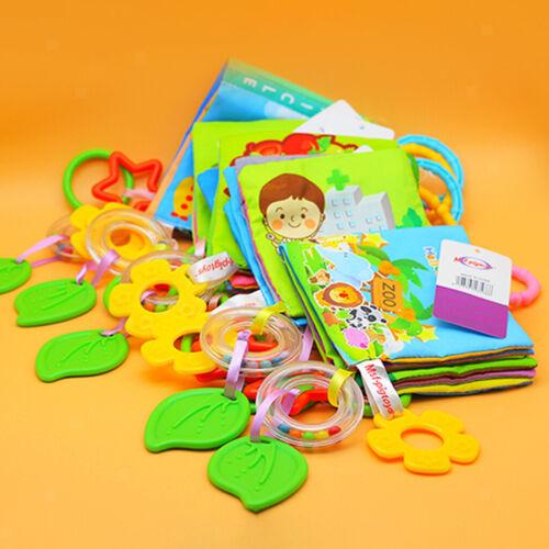 3 IN1 Soft Cloth Book Babygeschenke Frühes Lernspielzeug Für Kinder Ab 1Jahr