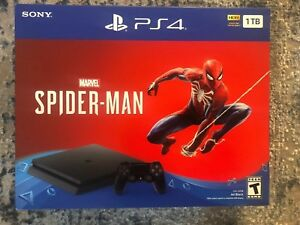 Sony-PlayStation-4-Slim-1TB-Console-Spider-Man-Bundle