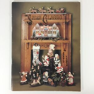 Santa-Classic-decorative-tole-painting-pattern-book-Christmas-Bonnie-Seaman