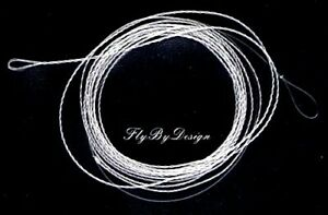 Wonderfurl Precision Clear Tapered Fluorocarbon Furled Fly Fishing Leader