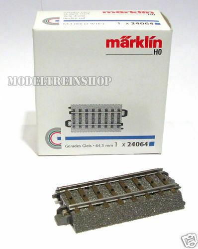 "Marklin 24064 Straight Track 64.3 mm / 2-9/16 "" - H0"