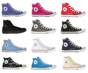 Converse-All-Star-Chuck-Taylor-Women-Men-Unisex-Hi-Top-Canvas-Fashion-Sneakers