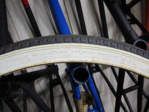 VINTAGE KENDA 28 X 1-1//2 BIKE BICYCLE MOTORCYCLE TIRE NYLON NOS WHITE WALL