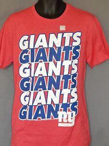 New-York-Giants-Football-T-Shirt-NFL-Top-Shirt-Short-Sleeve-Jersey-Mens-S-M-L-XL