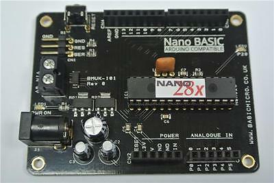 Nano BASIC Arduino Shield Compatible Microcontroller PCB Stamp PIC Robotics UNO