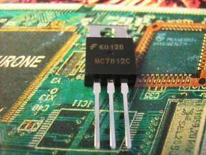 MC7812C  IC POSITIVE FIXED REGULATOR 12V 1.5A   5PCS
