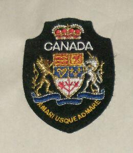 Canada-Amari-Usque-Admare-Bordado-Cosida-Mundo-Viaje-Parche