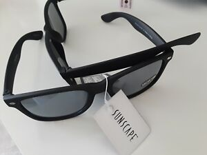 20e9433d13 Image is loading New-Sun-Scape-Sun-Glasses-Smooth-Operator-Black-