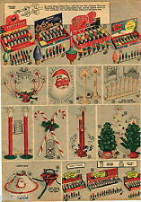 1951 ADVERTISEMENT 2 Pg Christmas Lights Noma Bubble Lites Safety Plug Outdoor