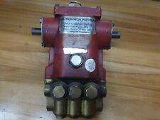Cat Speck Pump Model P45 Pressure Washer Car Wash Pump Untested Belt Drive