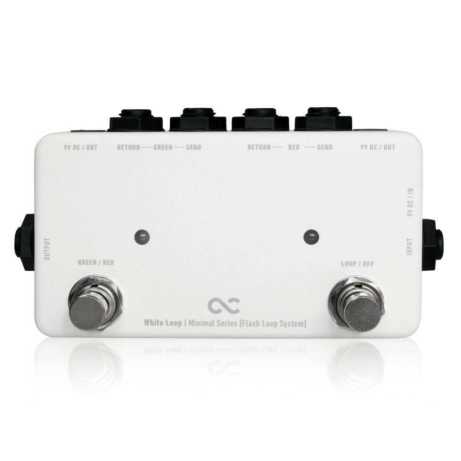 One Control Minimal Series Weiß LOOP 2 Loop True Bypass Looper w 2 DC Outs