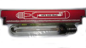 Fiable Greenbud Hps600 Watts Floraison Plantes Lumière, Pour Growbox Adapté, à Vapeur De Sodium Lampe-umdampflampe Fr-fr Afficher Le Titre D'origine
