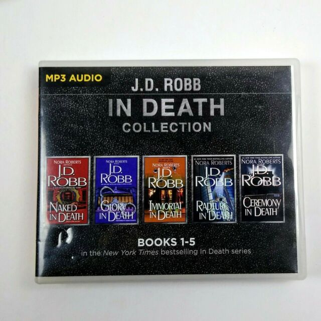 J. D. Robb CD Collection 1: Naked in Death, Glory in Death
