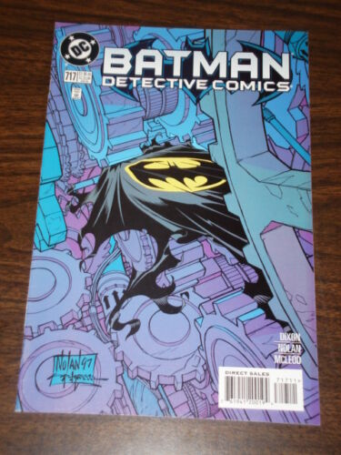 DETECTIVE COMICS #717 BATMAN DARK KNIGHT NM CONDITION JANUARY 1998