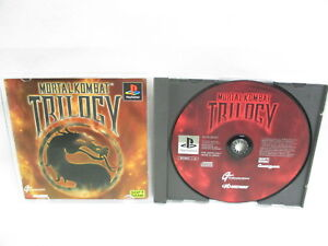 MORTAL KOMBAT TRILLOGY Item Ref/064  PS1 Playstation Japan Game p1 4512557600092