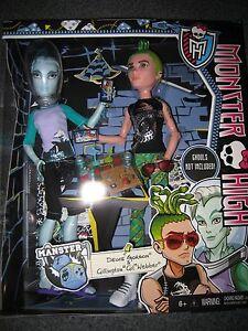 new monster high manster deuce gorgon gil webber 2 pack dolls i