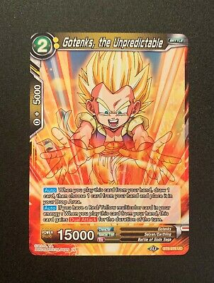 Yellow Dragonball Super TCG Baby Evil Origins BT8-084 UC