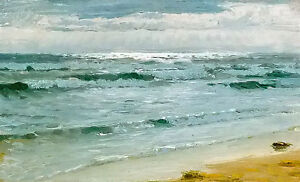 Oil-painting-peder-severin-kroyer-seascape-mar-en-skagen-with-ocean-waves-art