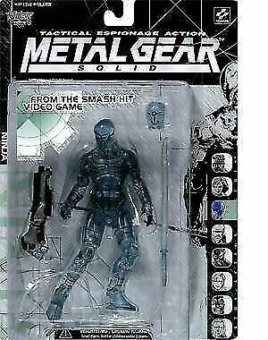 Details about  /Metal Gear Solid Clear Variant Cyborg Ninja by McFarlane Toys Circa 1998
