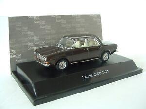 Starline-1-43-Lancia-2000-Berlina-Saloon-1971-Parioli-Marrone-Brown-509022