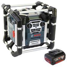 Bosch SOUNDSET Radiolader GML 50 mit Fernbedienung + 1x Akku 18V 5,0AH