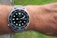 CITIZEN PROMASTER 200M AUTOMATIC LEFTY JAPAN MADE DIVERS RARE FEBRUARY 1987/97 ?