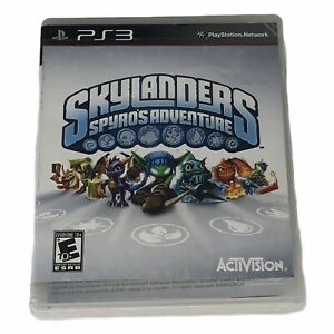 Skylanders-Spyro-039-s-Adventure-Game-Sony-PlayStation-3-2011-Complete-w-Manual