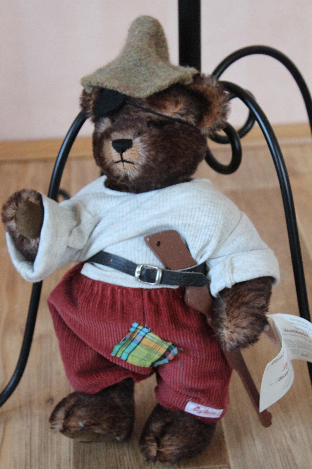 ***Neu ** Sigikid  Teddy *** Räuber Pistel ***Teddybär ***Limitierte Auflage ** Teddys