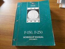1998 FORD F-150 - F250  FACTORY SERVICE WORK SHOP REPAIR MANUAL VOL 2 ONLY
