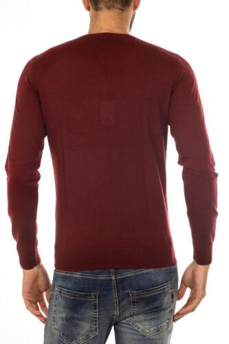 Maglia 1492 Sweater Armani Jeans Lana Maglione Bordeaux Uomo 6x6mc76m06z wrqw8UZC