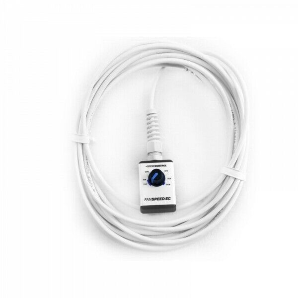GrowControl FANSPEED EC 3,5mm Klinkenanschluß Steuerung Ventialtor Grow Zucht