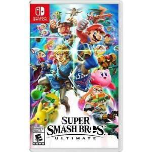 Super Smash Bros. Ultimate (Nintendo Switch, 2018) Brand New
