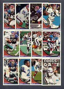 1994-Topps-Buffalo-Bills-TEAM-SET-Jim-Kelly