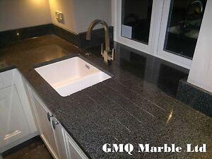 Nero Impala Granite Kitchen Worktops Affordable Prices Ebay