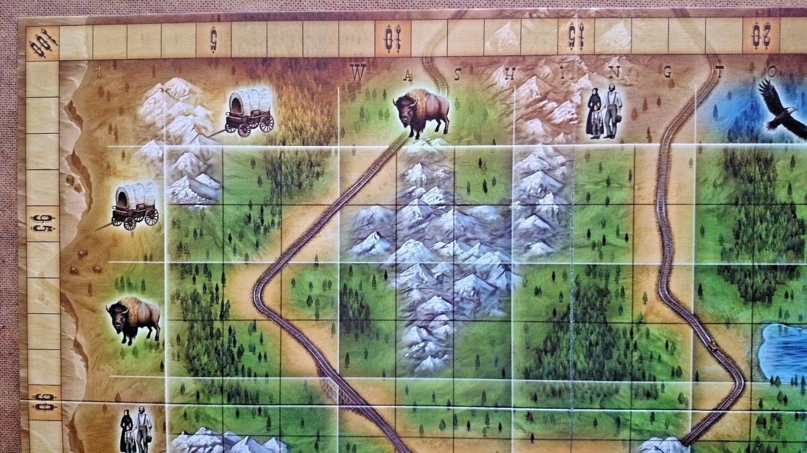 Oregon The Way the West was Won Game By Rio Rio Rio Grande Games 2007 fad524