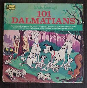 Vintage 1965 Original DISNEY'S 101 DALMATIANS SOUNDTRACK VINYL ALBUM 33-1/3 RPM