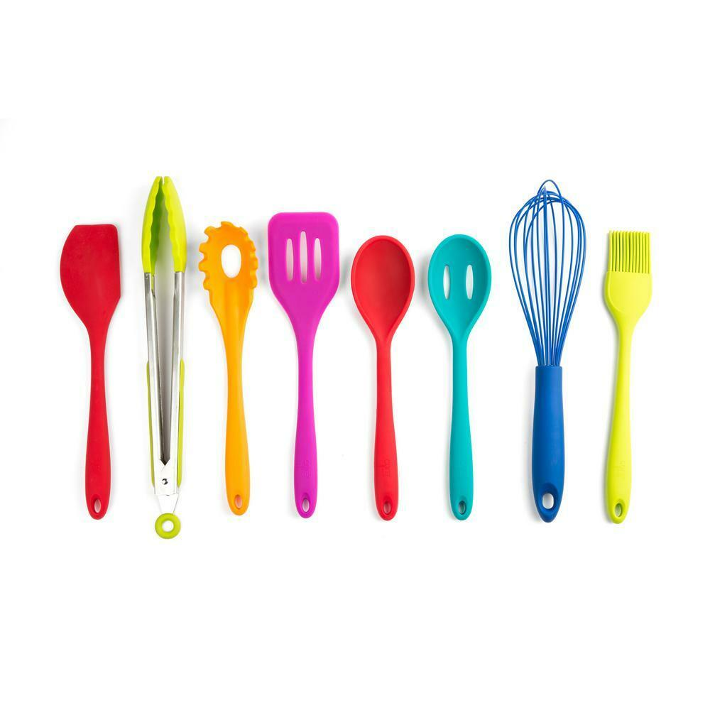 Core Kitchen Essential Silicone Multi Utensil Set (LOT of 6--8pks)  HD20976