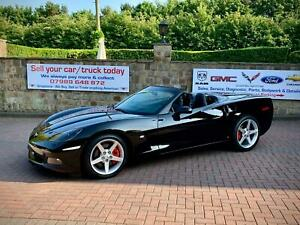 2007-57-Chevrolet-Corvette-C6-6-0-V8-Auto-Convertible-UK-Car-COC-1Owner-Nav-Z51