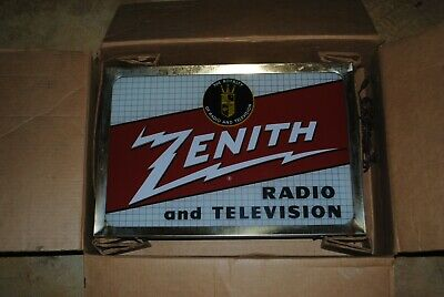 Metal Sign Vintage Look Reproduction 1924 Zenith Long-Distance Radios