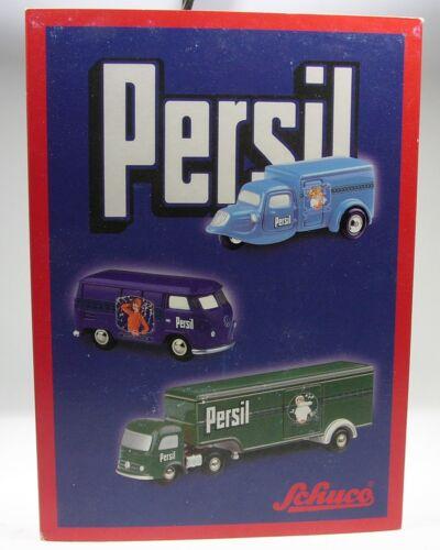 """Schuco PICCOLO SET /""""PERSIL/"""" con Mercedes VALIGIA autoarticolati # 50183500"""