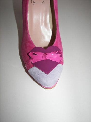 Best Connections Pumps 36 37 40 pink Herz High Heels  Schuhe NEU B.C