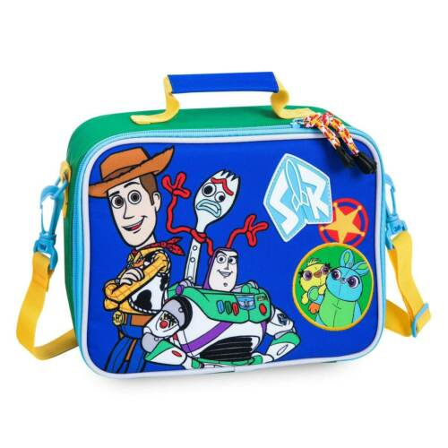 NWT Disney Store Toy story Lunch Box Tote Bag School