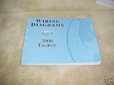 2006 Ford Taurus Wiring Diagrams | eBay