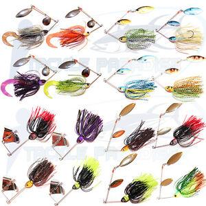 1-2oz-Spinnerbaits-Buzzbaits-Spinners-Bait-Lures-Soft-Plastics-Grubs-Cod-Bass