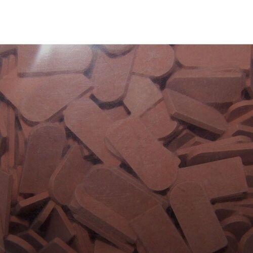 500 Biberschwanzziegel 1:32 1:35 rot dunkel lose Juweela 23113 2,45€//100 Stück
