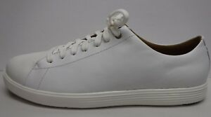 Haan Femmes 190595369566 Grandos Nouvelles Taille En Cuir Baskets Chaussures Cole Pour 10 5 Blanc H2DIWE9Y
