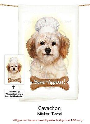 "Bone-Appetite !! Springer Spaniel Dog 29/'/' x 29/"" Flour Sack Towels"