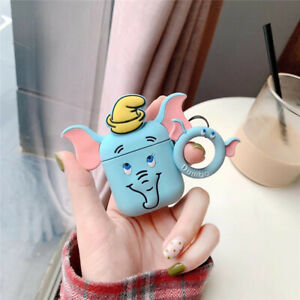 For Airpods Case 3d Cartoon Earphone Cases For Apple Airpods 2 Funny Accessories Ebay