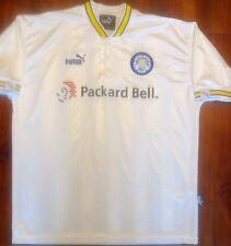 VTG Puma LEEDS UNITED AFC 1996-1998 Home Soccer Jersey Mens Large Football Shirt