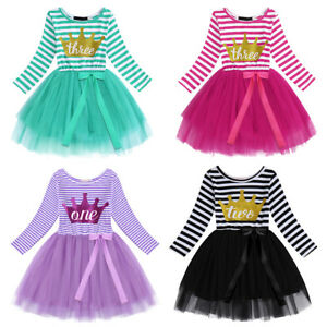 8a7ce29fa03c 1st 2nd 3rd Birthday Party Cake Dress Flower Girls Dresses For ...
